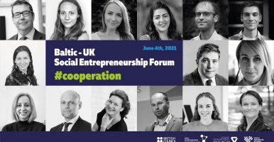 Aicina uz pirmo Baltijas – Lielbritānijas sociālās uzņēmējdarbības forumu