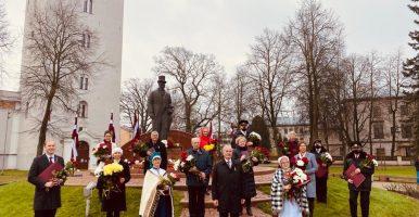 Dace Indrika saņem Jelgavas pilsētas augstāko apbalvojumu – Goda rakstu